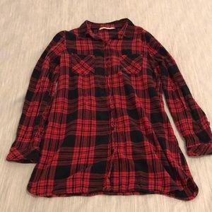 Red & Black Plaid Dress